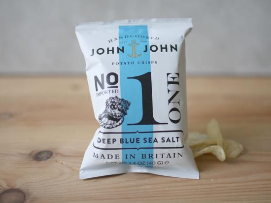 Chips  sel de mer John & John